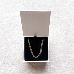 Mejuri Layered Spheres Choker Necklace